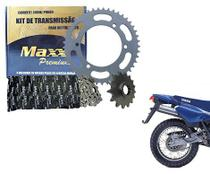 Kit Relação Tração Transmissão Corrente Coroa Pinhão Maxx Xt Tenere 600 15x45x108 Aço 1045 - 0721622 -