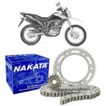 Kit Relação Transmissão Nakata Honda NXR 160 Bros 2015-2017 -