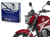 Kit Relação Transmissão Riffel Honda Cg Titan Fan Cargo Start 150 Mix Es Esd Es Ks De 2004 Ate 2015 -