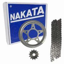 Kit Relação Twister 250 CBX 250 Tração Transmissão Nakata -