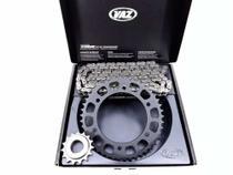 Kit Relação Yamaha Fazer 250 Com Retentor Vaz Black Edition -