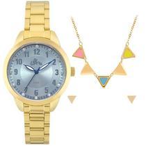 Kit relógio allora feminino al2035fku/k4a -