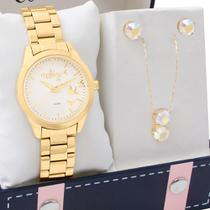 Kit Relógio Allora Feminino Com Colar e Brincos ALPC21AQ/K4D -