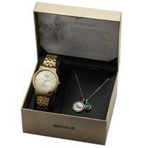 Kit Relógio Feminino Seculus Enfermagem 20943LPSKDS1K1 -