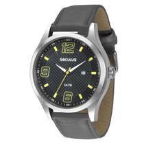 a3772e63250 Kit Relógio Masculino Seculus Analógico + Pen-drive Chaveiro -  28561G0SGNC1K2 - Preto