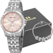 Kit Relógio Seculus Feminino Com Pulseira 20949L0SVNA4K1 -