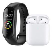 Kit Relógio Smartwatch M3 E Mini Fone Bluetooth - M3 E Itws12