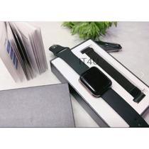Kit Relógio Smartwatch Preto + 2 Pulseiras + Fone Buetooth - Wf