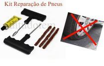 Kit Reparação de Pneus Tubulares - Moto Carro Bicicleta - Barcelona