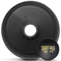 Kit Reparo Alto Falante Eros 18 Polegadas 1500W E-18 Target Bass Black 3.0K -