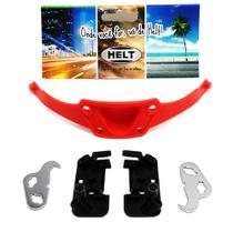 Kit reparo botão da trava articulação capacete Helt Hippo -