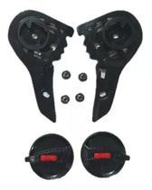 Kit Reparo Viseira Capacete Helt Strada / LS2 FF358 / FF396 Polivisor -