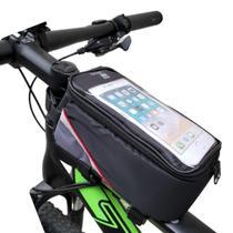 Kit Reparos Bike Bolsa Quadro Velocímetro Chaves Remendos - Unium