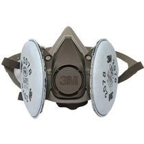 Kit Respirador Mascara 3M 6200 para Solda -
