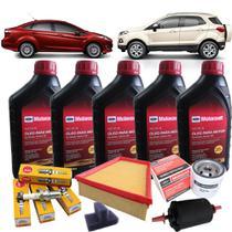 Kit revisão Ford - Óleo Motorcraft 5W30 Filtros e velas - Nova Ecosport 1.6 e New Fiesta 1.5 1.6 16V - Ford Motorcraft