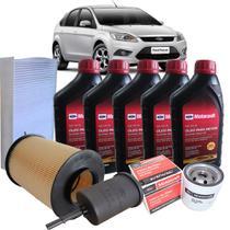 Kit revisão Ford troca de óleo Motorcraft 5W30 e filtros - Focus 2.0 2009-2013 - Italia Ricambi -
