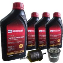 Kit revisão Ford troca de óleo Motorcraft 5W30 e filtros - Ford Ka e Fiesta Street - Italia Ricambi -