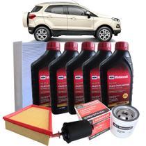 Kit revisão Ford troca de óleo Motorcraft 5W30 e filtros - Nova Ecosport 2.0 - italia ricambi -