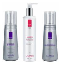 Kit Revitalizante Luminoso Silver&blond Cabelos Loiros e Grisalhos - L Arree Cosmetiques