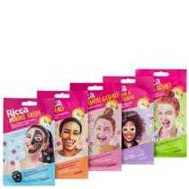 Kit Ricca Máscaras em Tecido (5 Produtos) -