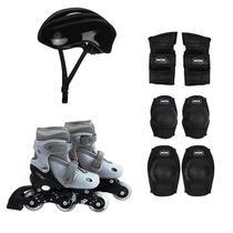 Kit Roller Cinza 30 Ao 33 Com Acessórios De Segurança Mor -