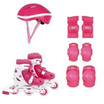 Kit Roller Com Acessórios De Segurança 30 Ao 33 Rosa 40600101 Mor -