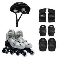 Kit Roller Com Acessórios De Segurança 34 Ao 37 Cinza 40600104 Mor -