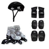 Kit Roller Infantil Cinza Tamanho M Numeração 34-37 MOR -