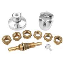 Kit Romar Reparo Universal p/ Registro c/ Acabamento C50 Luny 2505050 Cromado -