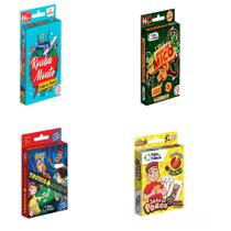 Kit - rouba monte/jogo do porco/truco maluco/jogo do mico - Pais & Filhos