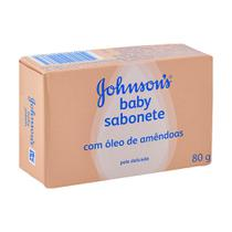 Kit Sab Johnson & Johnson Óleo De Amêndoas 12 Und 80g -