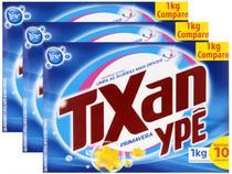 Kit Sabão em Pó Ypê Tixan Primavera - 1kg 3 Unidades