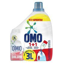 Kit Sabão para diluir OMO 500ml com garrafa -