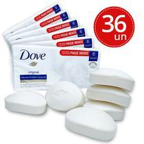 Kit Sabonete Dove Branco Original - 36 Unidades 90g -