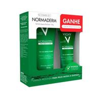 Kit Sabonete Liquido Vichy Normaderm Gel de Limpeza Profunda 150g + 40g -