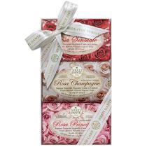 Kit Sabonetes Le Rose Nesti Dante 3x 150g -