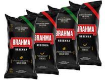 Kit Salgadinho Resenha Brahma 50g cada - 2 Pacotes Queijo Suiço e 2 Pacotes Pimenta