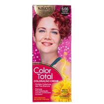 Kit Salon Line Color Total 6.66 Louro Escuro Vermelho Intenso - Coloração Permanente -