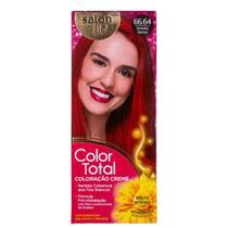 Kit Salon Line Color Total 66.64 Vermelho Glamour - Coloração Permanente -
