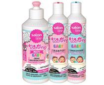 Kit Salon Line Todecachinho Multy Baby Shampoo Cond Creme -