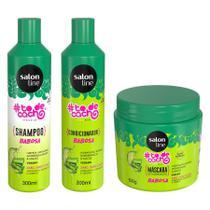 Kit Salon Line todecacho Babosa - 3 Produtos -