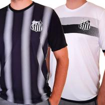 Kit Santos F.C. - 2 Camisas Licenciadas Oficiais -
