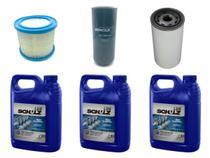 Kit Schulz Manutenção Preventiva Completa Compressor - Srp 3020 Compact / Srp 3025 Compact -
