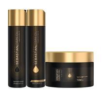 Kit Sebastian Professional Dark Oil - Shampoo 250ml + Condicionador 250ml + Máscara 150ml - Wella
