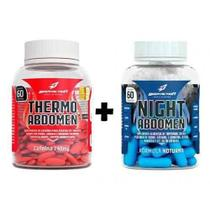 Kit Seca Abdomen - Day And Night 120 Caps - Thermo + Night A - Geral