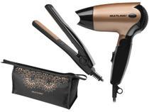 Kit Secador Chapinha e Necessaire Multilaser - Beauty -
