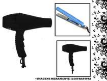 Kit Secador Super Potente 8600w 110v + Chapinha Prancha  450ºF - Global
