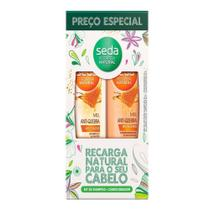 Kit Seda Shampoo + Condicionador  Antiquebra MEL - 325ml -