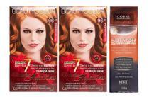 Kit Segredo da Cor - Beauty Color 96.44 e Kert Tonalizante Cobre -