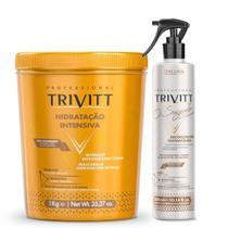 Kit Segredo Do Cabeleireiro + Hidratação 1 Kg  - Trivitt -